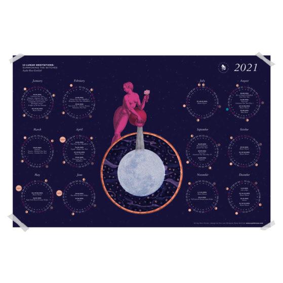 13 Lunar Meditations 2021 Lunar Calendar